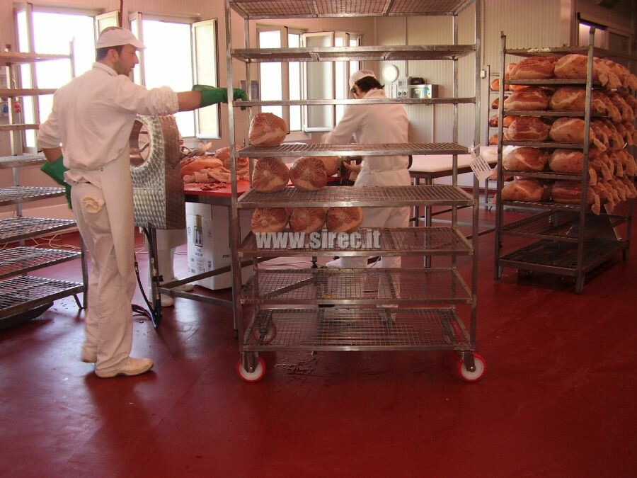 Industrial coatings epoxy spatula - meat processing