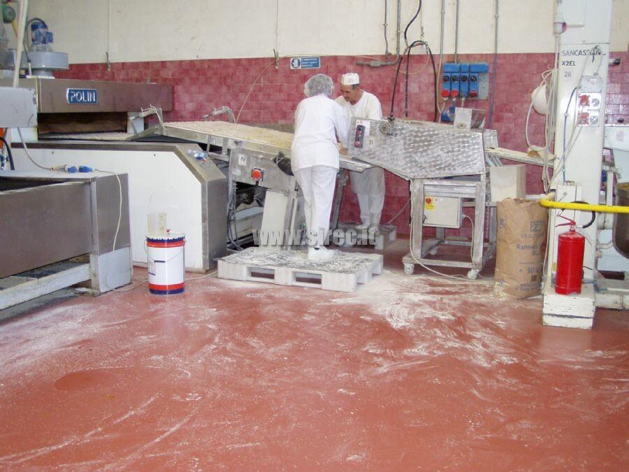 Pavimentazione industriale in resina produzione biscotti » Pavimenti in resina per industria dolciaria