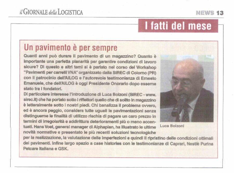 I fatti del mese » 2° Workshop - Parma 23 marzo 2016