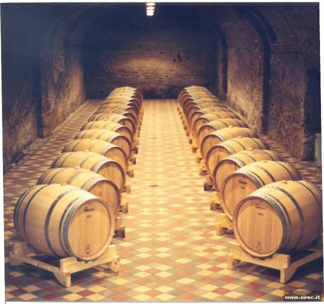 Pavimentazione in klinker in cantina vinicola » Pavimentazioni in klinker industriale