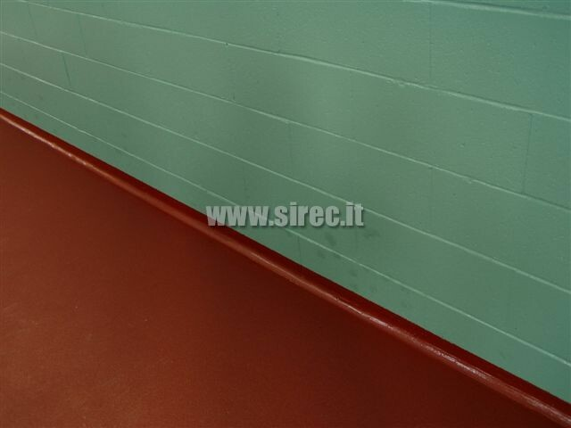 Elastic epoxy resin base board on concrete blocks H