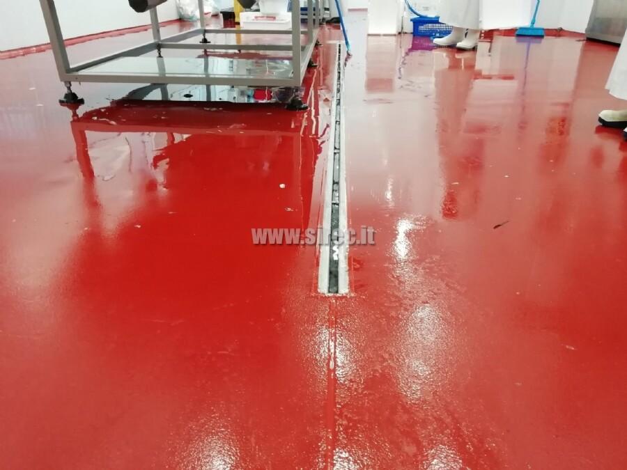 Pavimento spatolato EPOXIBETON antibatterico