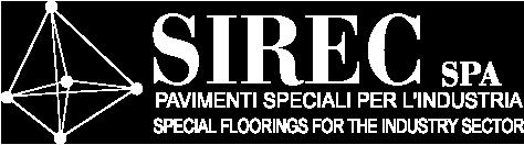 Logo SIREC pavimenti industriali